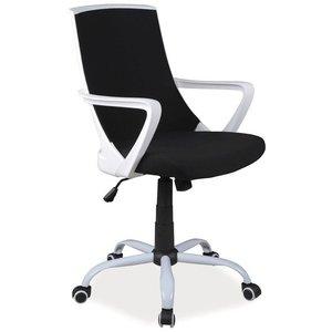 Raina skrivbordsstol - Svart/vit