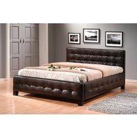 Säng Cypress färg brun (mörkt)