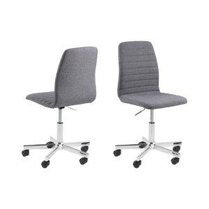 Wisconsin skrivbordsstol - Grå