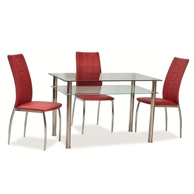 Matbord Ektorp 120 cm - Krom
