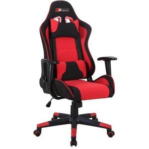 Tyson kontorsstol - Svart/röd