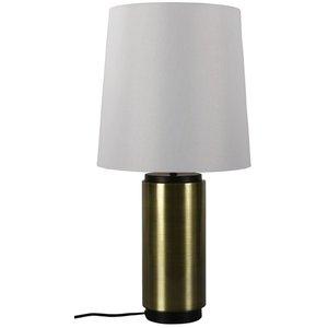 Bordslampa Tenvik - Svart / Vit / mässing