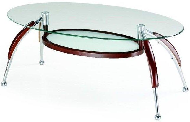 Soffbord ovalt soffbord : Kinsley ovalt soffbord - Wenge - 1395 kr - Trendrum.se