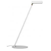 Symbios bordslampa - vit/mässing
