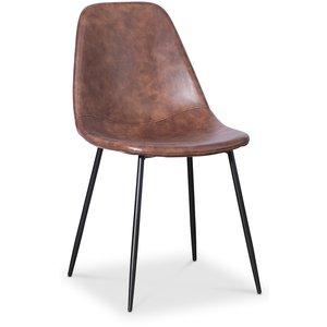 Bjurträsk stol - Brun/svart