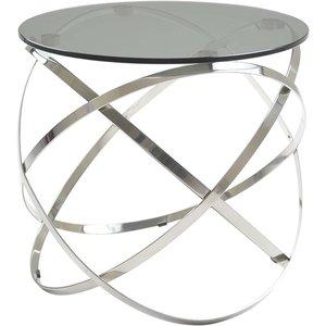 Granvik lampbord - Glas/polerat stål