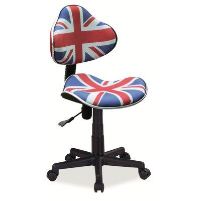 Kontorsstol Carla Storbritannien - Multifärgad