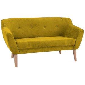 Camryn 2-sits soffa - Gul