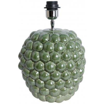 Big Bouble lampfot H32 cm - Grön (Glansig)