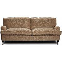 Howard Sir William 3-sits soffa (Dun) - Mobus Darkbeige Floral