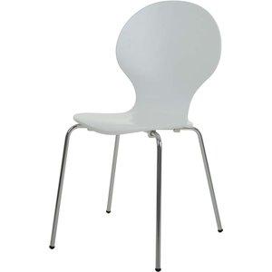 Djurröd stol - Vit