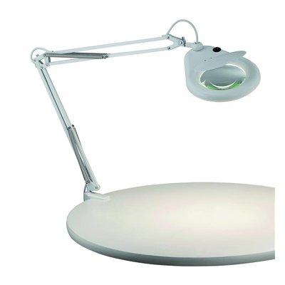 Fagernes Bordslampa med förstoringsglas - Vit