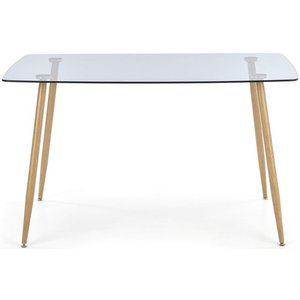 Tia matbord - Ek / Glas & 1290.00