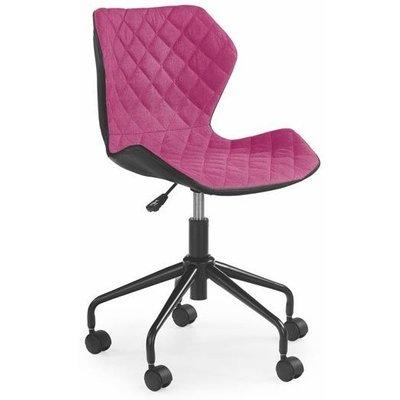 Albana skrivbordsstol - Svart/rosa