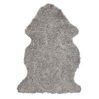 Curly fårskinn - 95x55 cm - Grå