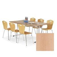 Konferens bord fällbart 180 cm bord - Bok