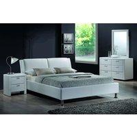 Säng Bellflower färg vit