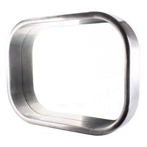 Spegel Retro - Metallfärgad