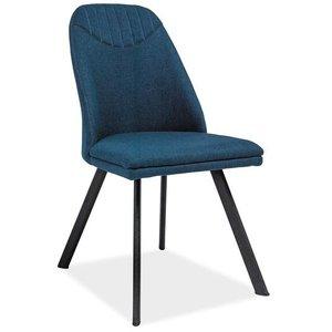 Maryam stol - Mörkblå/svart