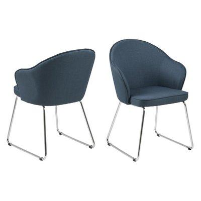 Waterbury matstol - Mörkblå