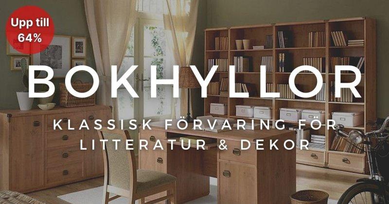 Bokhyllor - Upp till 64%