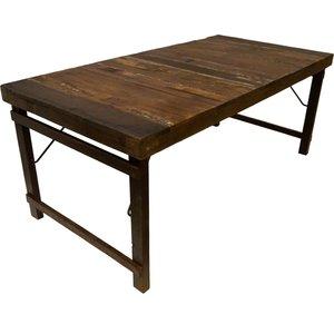 Villach matbord 180 cm - Rustikt trä