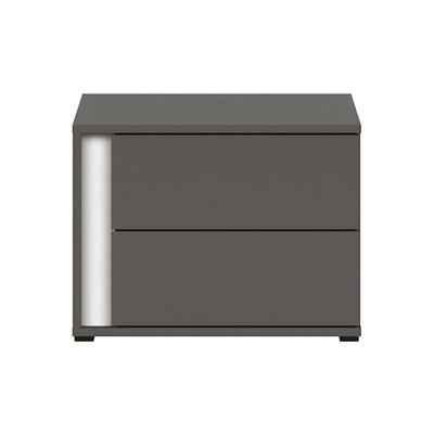 Link sängbord - Grafitgrå