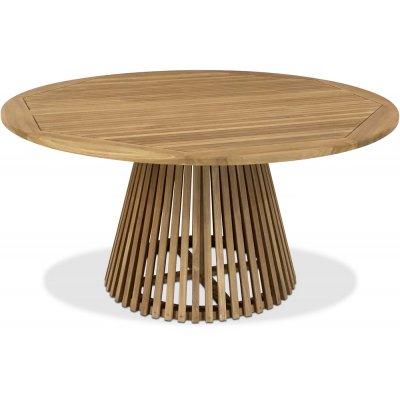 Saltö runt konformat matbord D150 cm - Teak