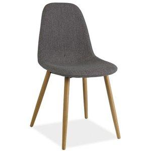 Mae stol - Grå/bok