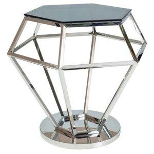 Millward lampbord - Krom/svart