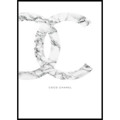 COCO CHANEL - Poster 50x70 cm