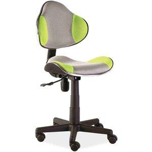 Carla skrivbordsstol - Grå/grön