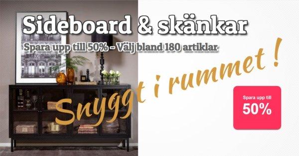 Sideboard & skänkar - Spara upp till 50%