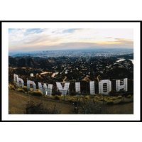 HOLLYWOOD SIGN - Poster 50x70 cm