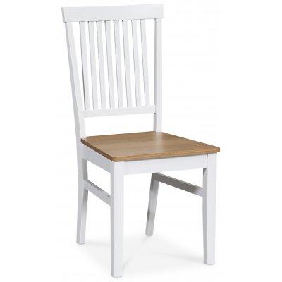 Fårö stol - Vit/ek