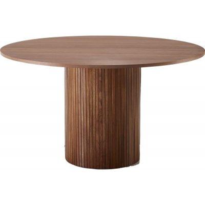 Essvik matbord Ø130 cm - Valnöt