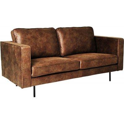 Balbus 2,5-sits soffa - Mörkbrun