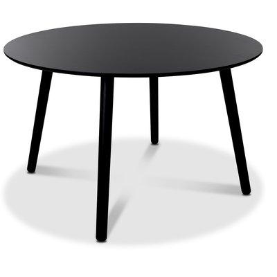 Rosvik runt matbord 120 cm - Svart