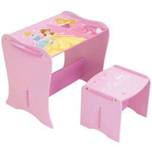 Disney Prinsessa skrivbord med stol - Rosa