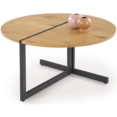 Tristin soffbord - Ek/svart