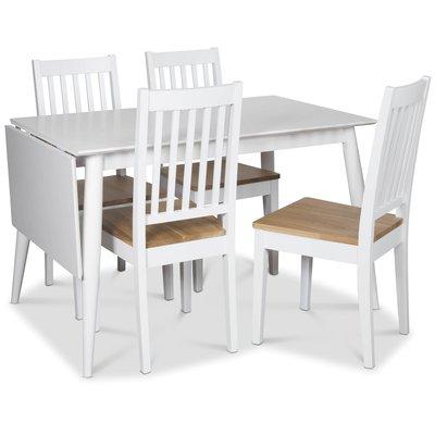 Tärnö matgrupp, Klaffbord med 4 st Simris matstolar med eksits