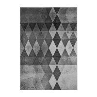Maskinvävd matta Tryggve - Grå