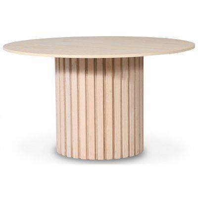 PiPi runt matbord Ø150 cm - Whitewash