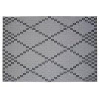 Flatvävd / slätvävd matta Denver - Sand/svart
