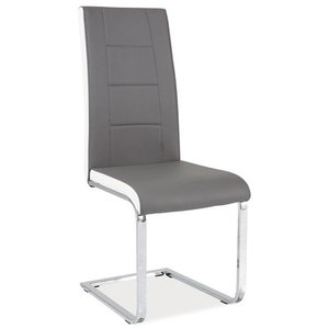 Aspen stol - Grå/vit