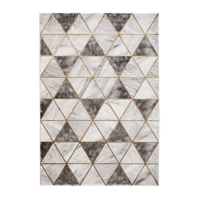 Maskinvävd matta - Craft Trendy Guld