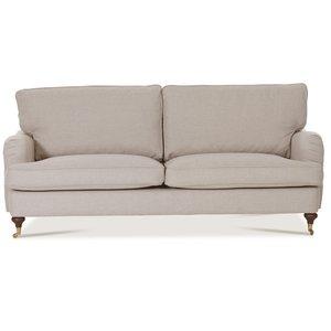 Howard Watford Deluxe 4-sits rak soffa - Beige