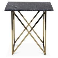 Paladium Lampbord - Mässing / Grå marmor
