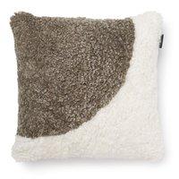 Curly kuddfodral fårskinn - Vit/sahara