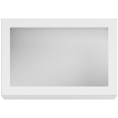 Caddy väggskåp - Vit / Glas